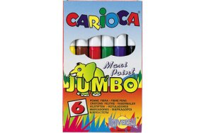 CARIOCA MARKERS 6 COLOURS JUMBO